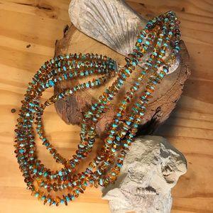 Jay King Amber & Turquoise